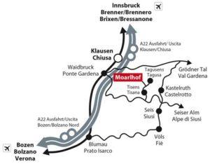 Der Moarlhof in Kastelruth